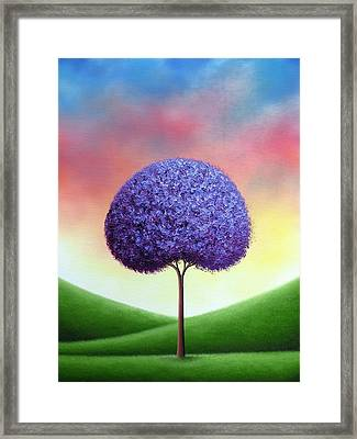 The Dreams We Whisper Framed Print by Rachel Bingaman