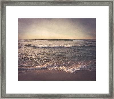 The Dreamtime Sea Framed Print