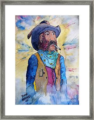 The Drifter Framed Print by Don Hand