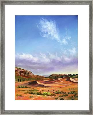 The Drifters Framed Print by Eve  Wheeler
