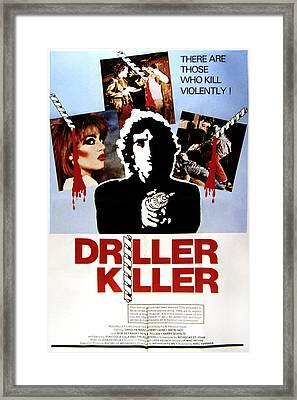 The Driller Killer, Abel Ferrara, 1979 Framed Print by Everett