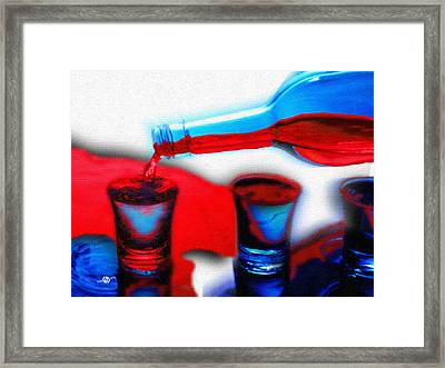 The Drink You Can Handle Ode To Addiction Framed Print by Tony Rubino