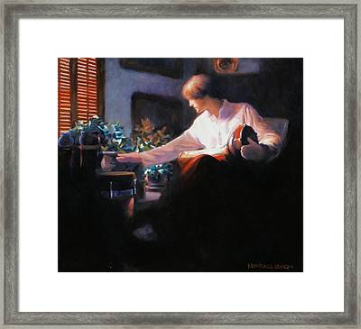The Drummer Framed Print by Kevin Lawrence Leveque