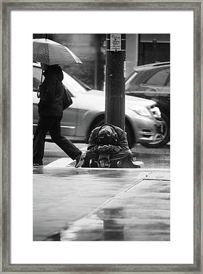 Framed Print featuring the photograph The Dry People by Empty Wall