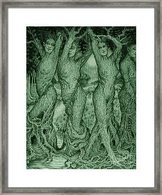 The Dryads Framed Print