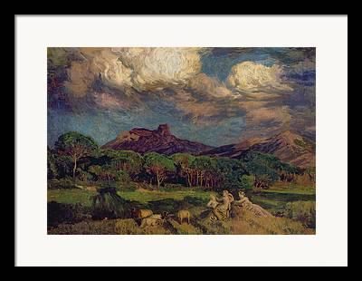 Marie Auguste Emile Rene Framed Prints