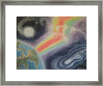 The Duality Framed Print by Peg Graham