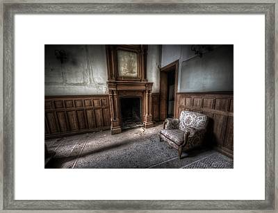 The Duchess Chair  Framed Print