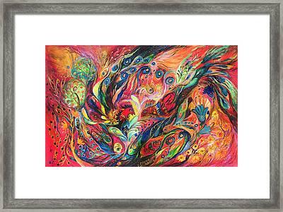The Duel Framed Print by Elena Kotliarker