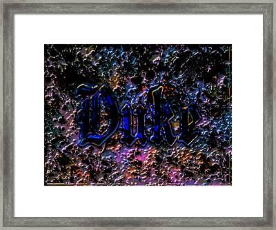 The Duke Blue Devils C1 Framed Print