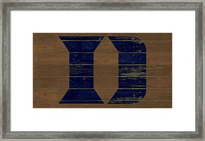 The Duke Blue Devils W1 Framed Print