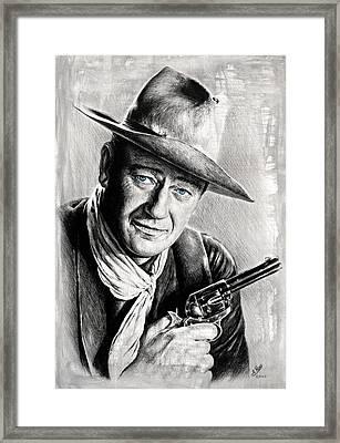 The Duke Grey Splash Framed Print by Andrew Read