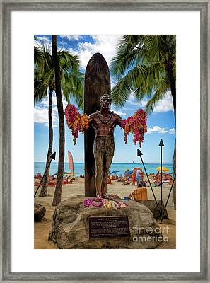 The Duke Framed Print by Jon Burch Photography