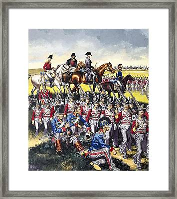 The Duke Of Wellington Framed Print