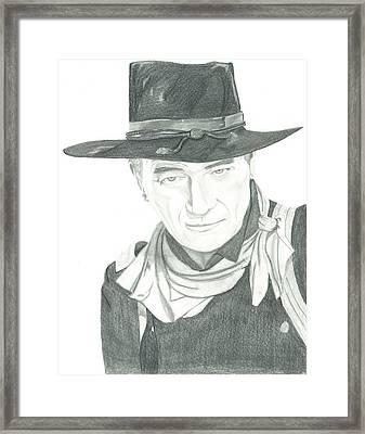 The Duke Framed Print by Seventh Son