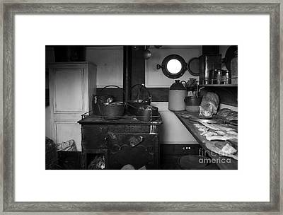 The Dunbrody Crew's Kitchen Framed Print by RicardMN Photography