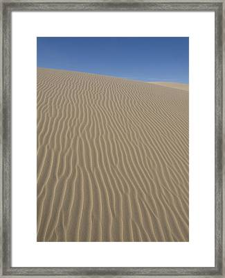 Framed Print featuring the photograph The Dune by Tara Lynn