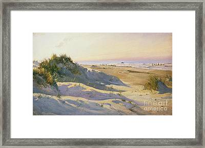 The Dunes Sonderstrand Skagen Framed Print by Holgar Drachman