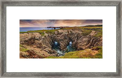 The Dungeon Rocks Framed Print by Tracy Munson
