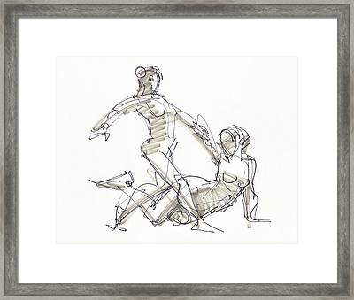 The Duo Framed Print