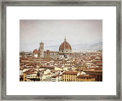 The Duomo Framed Print by Alexander Mendoza