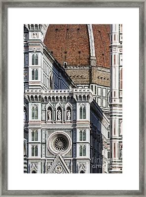 The Duomo Detail Framed Print