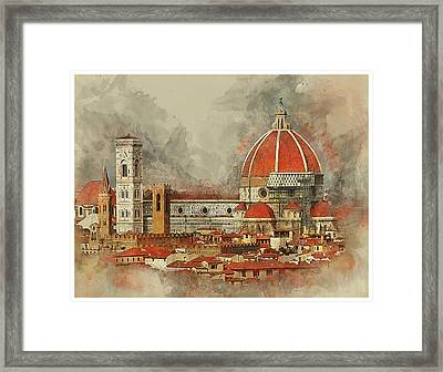 The Duomo Florence Framed Print
