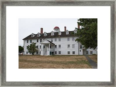 The Dwelling House Framed Print by Lois Lepisto