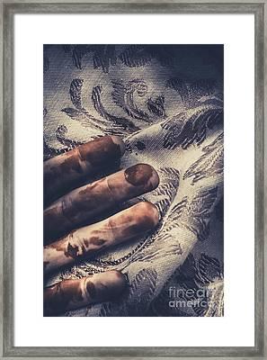 The Dying Artist Framed Print