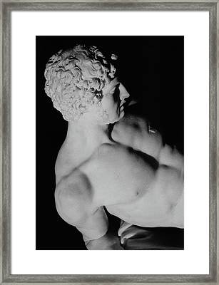 The Dying Gladiator Framed Print