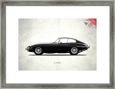 The E Type Framed Print by Mark Rogan