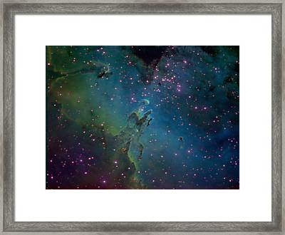 Framed Print featuring the photograph The Eagle by Charles Warren