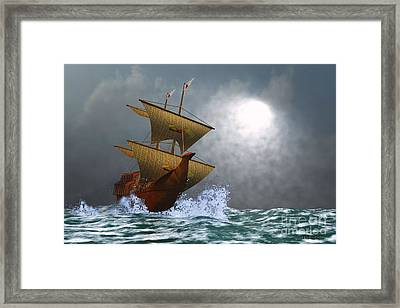 The Eagle Framed Print by Corey Ford