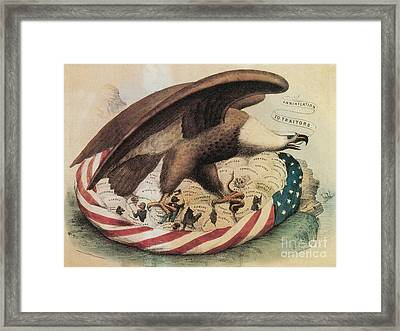 The Eagles Nest, 1861 Framed Print