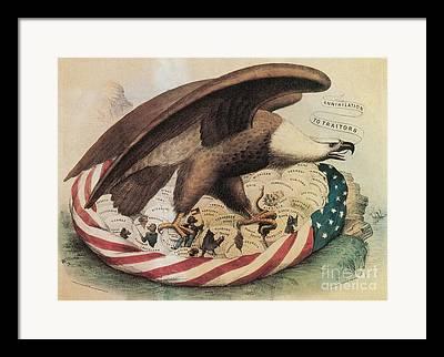 War Of Secession Framed Prints