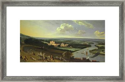The Earl Of Rochester's House - New Park Richmond Surrey Framed Print by Mountain Dreams