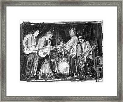 The Early Beatles Framed Print