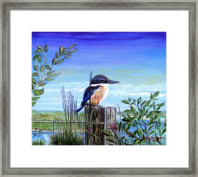 The Early Bird Framed Print by James Richardson