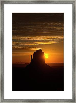 The Earth Awakes Framed Print