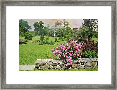 The East Lawn Framed Print