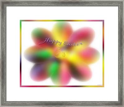 The Easter Chicks Framed Print