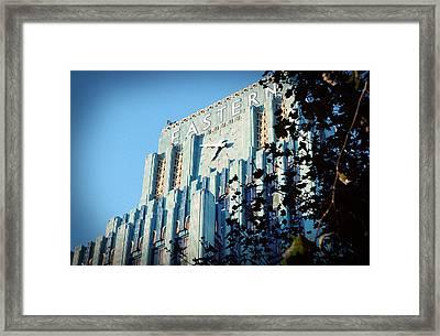 The Eastern Building Framed Print by Ariane Moshayedi