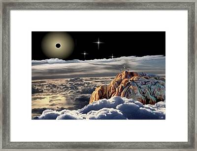 The Eclipse At Calvary Framed Print