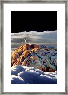 The Eclipse At Calvary Sec I I I Framed Print