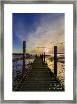 The Eclipse Framed Print