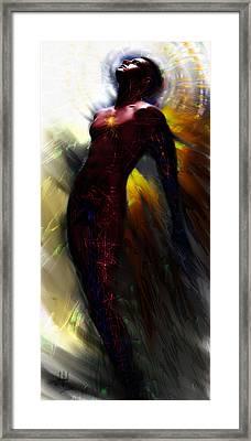 The Ecstasy Angel Framed Print by Stephen Lucas