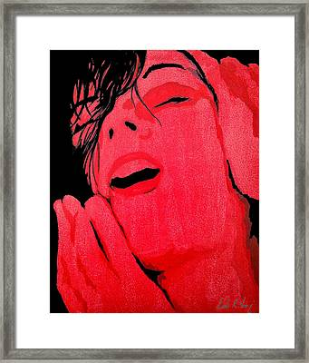 The Ecstasy Framed Print