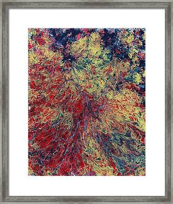 The Ecstasy Of Fire In Water Framed Print