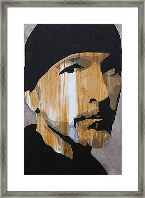 The Edge Framed Print by Brad Jensen