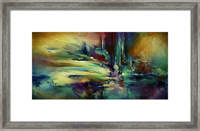 'the Edge' Framed Print by Michael Lang